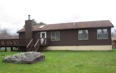 Swan Lake NY Single Family Home For Sale: $110,000