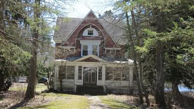Single Family Home For Sale: 499 (501) Old Taylor Road