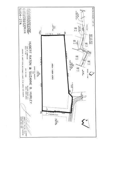 Glen Spey Residential Lots & Land For Sale: (1.16) Gregory Rd.
