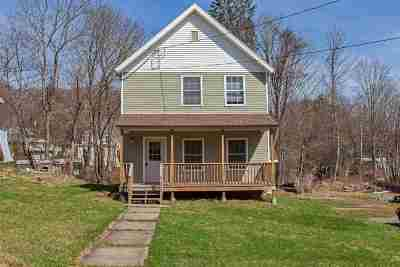 Liberty NY Single Family Home For Sale: $125,000