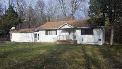 Single Family Home For Sale: 185 Old White Lake