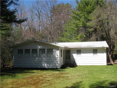 Glen Spey NY Single Family Home For Sale: $79,000