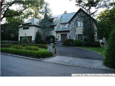 Staten Island NY Single Family Home Sold: $1,950,000
