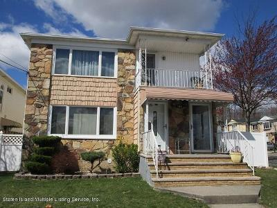 Staten Island Two Family Home For Sale: 156 Lovelace Avenue