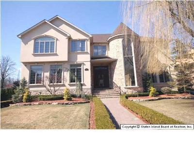 Staten Island NY Single Family Home Closed: $2,375,000