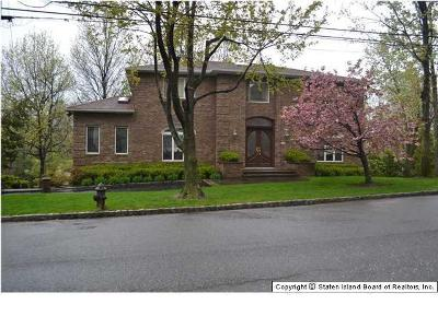 Staten Island NY Single Family Home Closed: $1,340,000