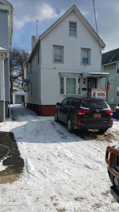 Staten Island Single Family Home Acceptance: 231 Union Avenue