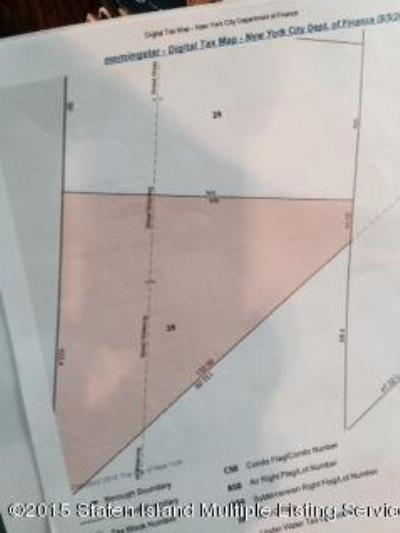 Staten Island Residential Lots & Land For Sale: Morning Star Road