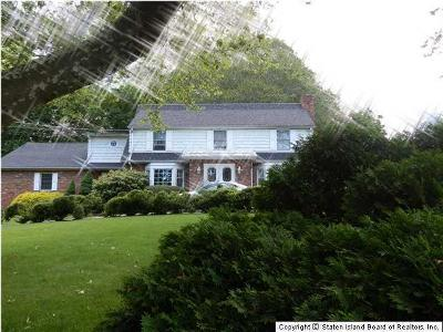 Staten Island NY Single Family Home Closed: $1,550,000