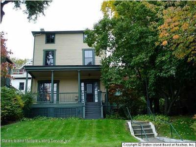 Single Family Home For Sale: 272 Richmond Terrace
