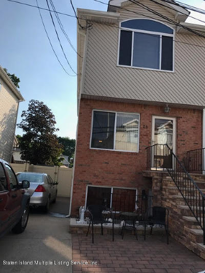 Staten Island Two Family Home For Sale: 26 Bentley Lane