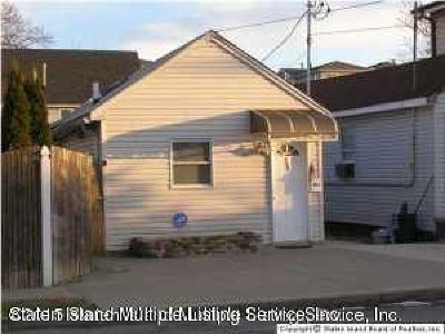Staten Island Single Family Home Acceptance: 750 Patterson Avenue