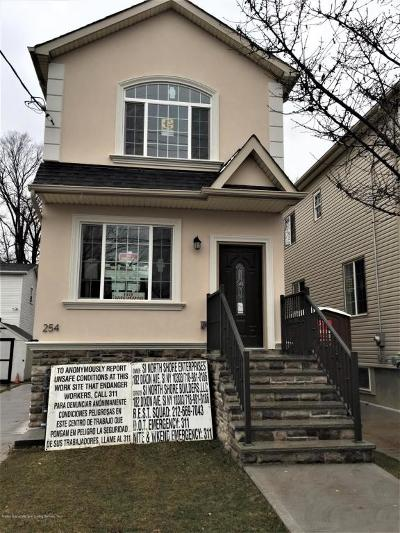 Single Family Home For Sale: 254 Simonson Avenue