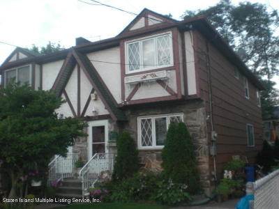 Semi-Attached For Sale: 2732 Amboy Rd