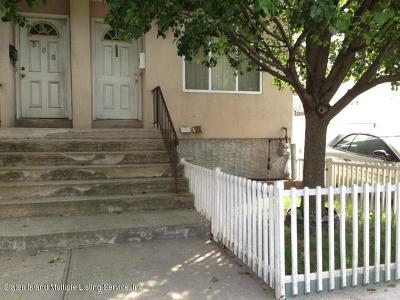 Staten Island Semi-Attached For Sale: 506 Jersey Street
