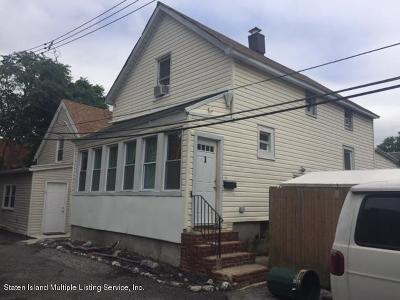 Staten Island Single Family Home For Sale: 1 Wygant Place