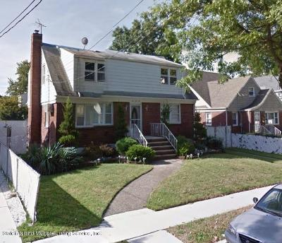 Staten Island Two Family Home For Sale: 142 Crowell Avenue