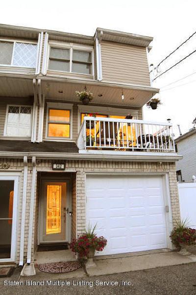 Staten Island Semi-Attached For Sale: 342 Arthur Kill Road