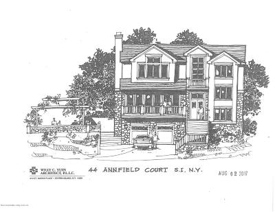 Staten Island Single Family Home For Sale: 44 Annfield Court