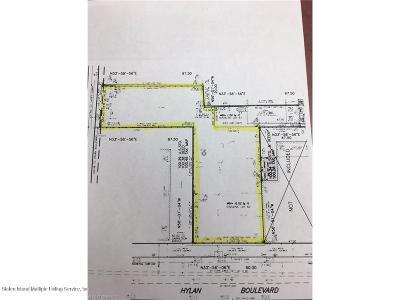 Staten Island Residential Lots & Land For Sale: 1697 Hylan Boulevard