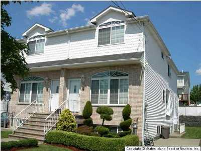Staten Island Semi-Attached For Sale: 1041 Rensselaer Avenue