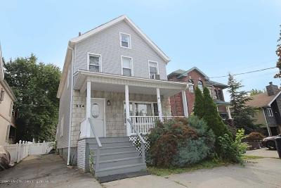 Staten Island Single Family Home For Sale: 324 Clarke Avenue