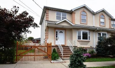 Staten Island Semi-Attached For Sale: 185 Delaware Avenue