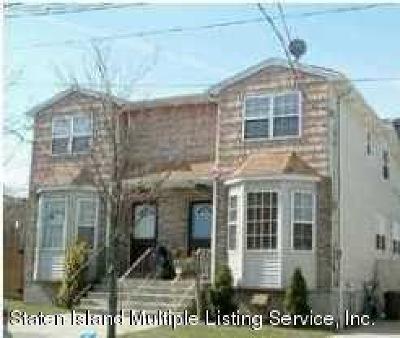Staten Island Semi-Attached For Sale: 276 Wood Avenue