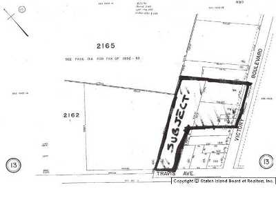Staten Island Residential Lots & Land For Sale: Victory Boulevard