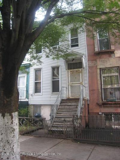 Brooklyn Two Family Home Acceptance: 337 Quincy Street