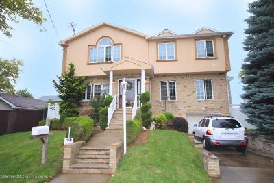 Staten Island NY Single Family Home For Sale: $890,000