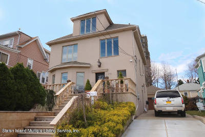 Staten Island NY Single Family Home For Sale: $1,598,000