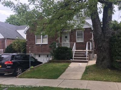 Staten Island Single Family Home For Sale: 667 Davis Avenue