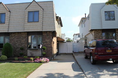 Staten Island Semi-Attached For Sale: 345 Brookfield Ave