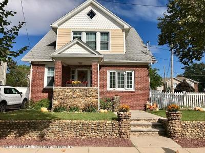 Staten Island Single Family Home For Sale: 319 Yetman Avenue