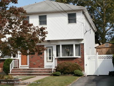 Semi-Attached For Sale: 45 Tremont Avenue