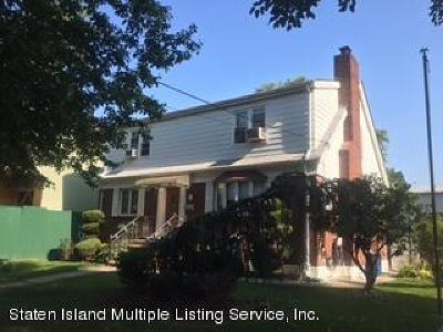 Richmond County Two Family Home For Sale: 301 Cromwell Avenue