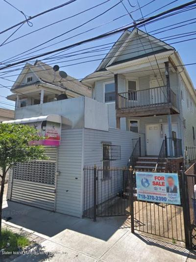 Staten Island Multi Family Home For Sale: 320 Broadway