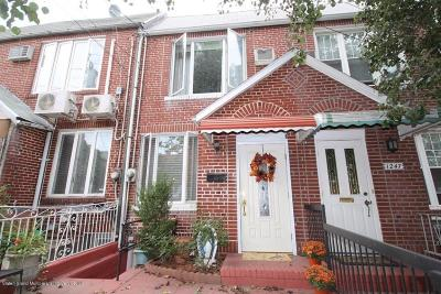 Brooklyn Single Family Home For Sale: 1245 78th Street
