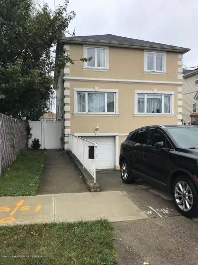 Staten Island Semi-Attached For Sale: 286 Lamport Boulevard