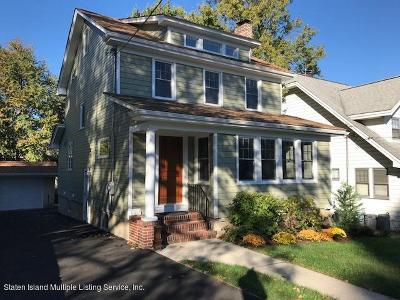 Staten Island Single Family Home For Sale: 352 Hart Avenue