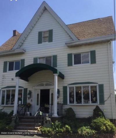 Two Family Home For Sale: 7266 Amboy Road