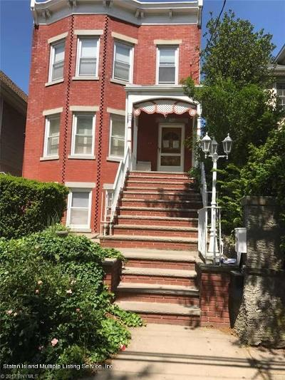 Two Family Home For Sale: 637 Tompkins Avenue