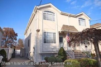 Staten Island Semi-Attached For Sale: 51 Pond Street