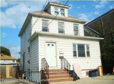 Staten Island NY Two Family Home For Sale: $624,999
