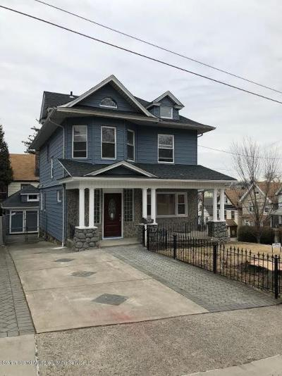 Staten Island Single Family Home For Sale: 141 Harvard Avenue