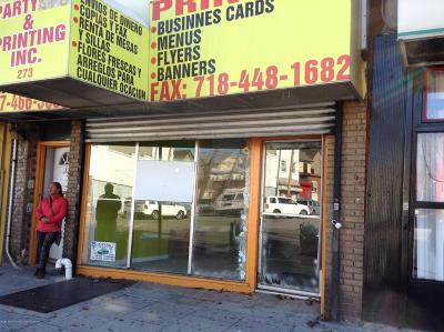 Staten Island NY Commercial For Sale: $640,000