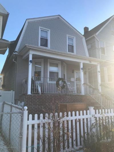 Single Family Home For Sale: 78 Virginia Avenue