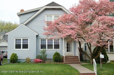 Staten Island Single Family Home For Sale: 646 Bard Avenue