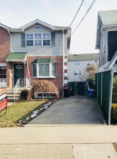 Staten Island Single Family Home For Sale: 119 Raymond Place